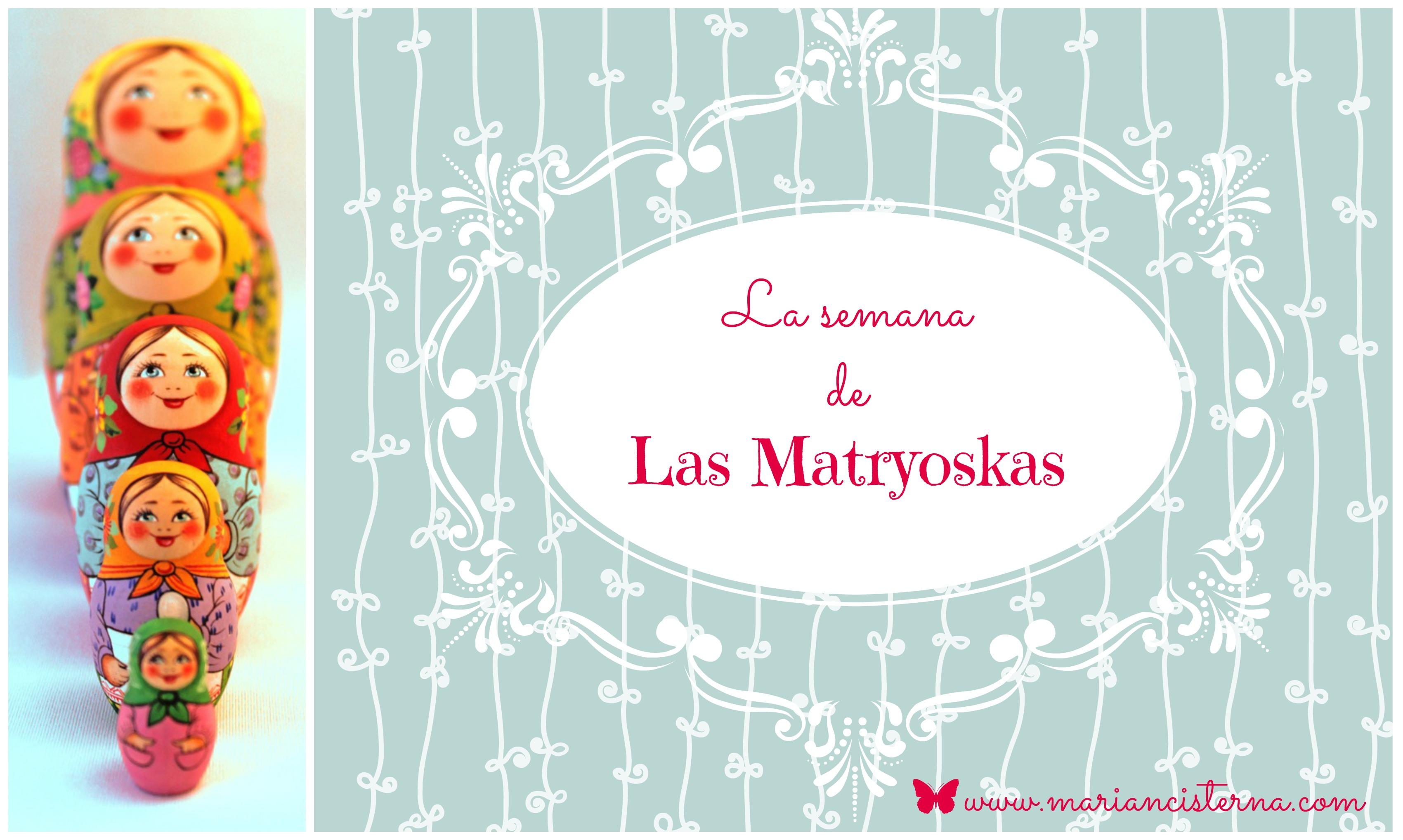 CARTEL SEMANA DE LAS MATRYOSKAS